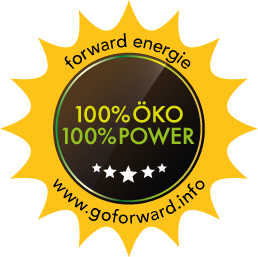 100% Öko 100% Power Button