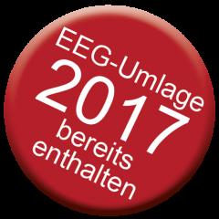 EEG-Umlage bereits enthalten, 2017
